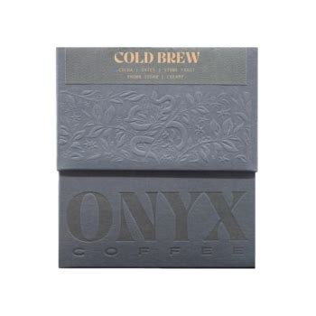 Café and roastery specializing in coffee profiling and brew methods located in. Onyx Coffee Lab - Onyx Cold Brew - 12 oz.