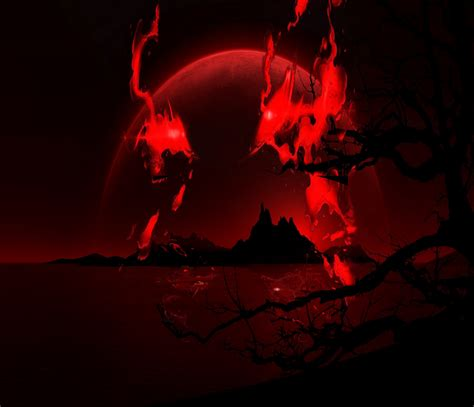 Alpha Wolf Blood Moon Wolf Wallpaper by Moon Wallpapers 4usky