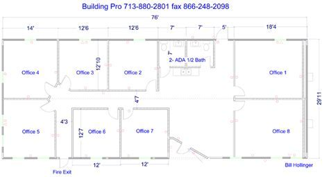 Floor Plans For Commercial Modular Buildings   Restroom