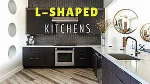 9, Beautiful, L, Shaped, Kitchen, Design, Ideas