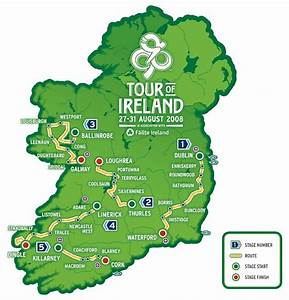2008 Tour Of Ireland Route Revealed