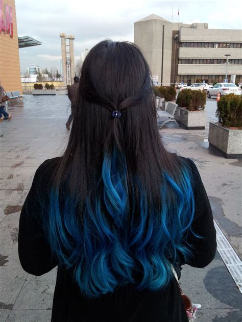 1000 Images About Hair On Pinterest Blue Tips Dyed