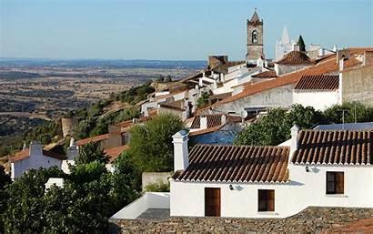Portugal Monsaraz Parede Portogallo Papel Peint Papier