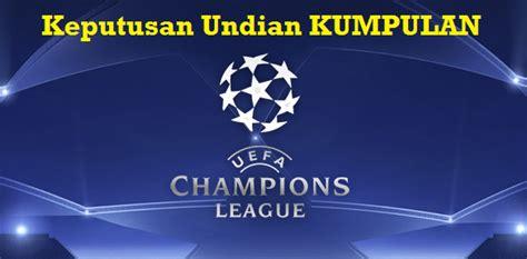 keputusan undian uefa champions league  peringkat