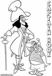 Captain Hook coloring pages | Coloring pages to download ...