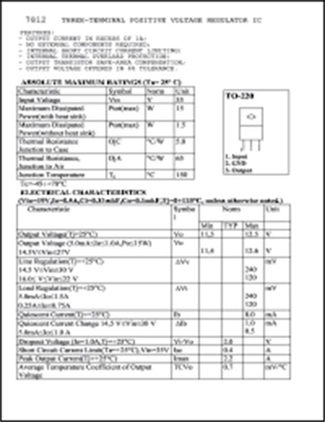 INTGR 7812 Datasheet.