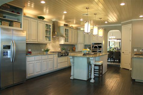 kitchen island with posts white kitchen cabinets burrows cabinets central