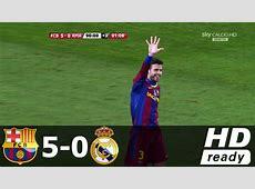 Barcelona vs Real Madrid 50 All Goals & Extended