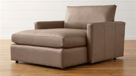 Lounge Ii Leather Chaise Lounge