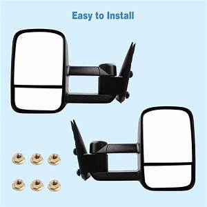 Manual Tow Mirrors Pair For 99