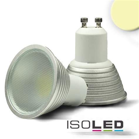 led gu10 warmweiß isoled gu10 led strahler 5 watt warmwei 225 dimmbar gu10