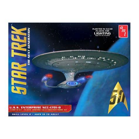 New Star Trek Uss Enterprise 1701-d Clear Edition 1