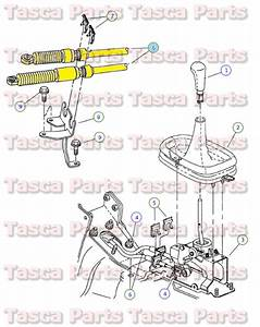 New Oem Gearshift Control Cable 1995