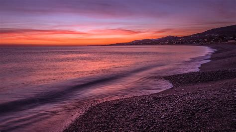 Here are only the best 4k desktop wallpapers. Download Free HD Early Morning Shore Desktop Wallpaper In ...