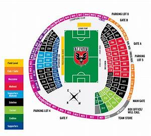 Rfk Stadium Seating Chart D C United Soccer D C United Groupon