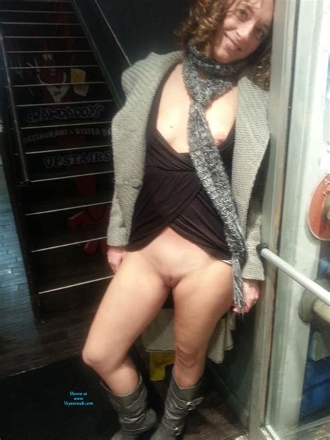 Horny Wife Out And About January Voyeur Web