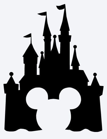 Disney Castle Clipart Pin By Sherry Hesterly On Silhouette Disney