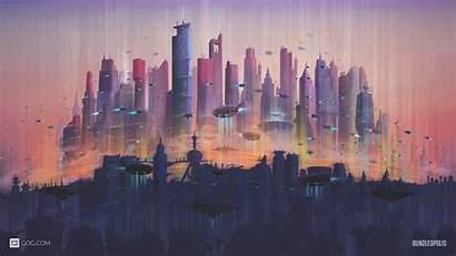 4k Future Wallpapers Cityscape Desktop Gog Ultra