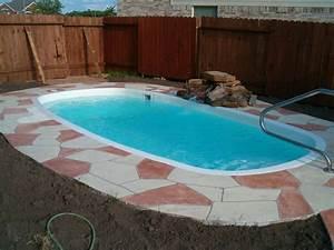 Small Pool Design in Swimming Lovers - Amaza Design