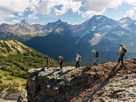 heli hiking   canadian rockies
