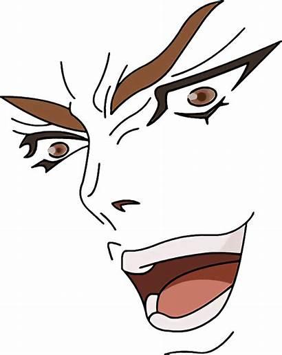 Anime Face Kono Dio Da Clipart Transparent