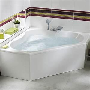 Baignoire D Angle 135x135 : baignoires d 39 angle salle de bains lapeyre ~ Edinachiropracticcenter.com Idées de Décoration