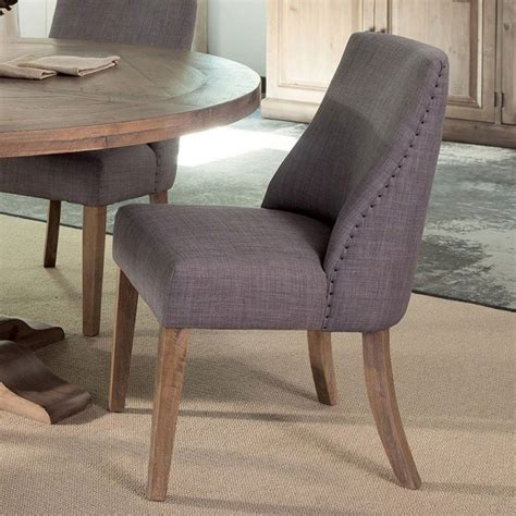 antonelli dining room set  grey chairs coaster furniture