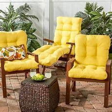 Greendale Home Fashions Set Of Two, Outdoor Seatback