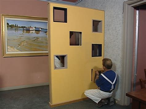 building a room how to build a room divider or partition wall youtube