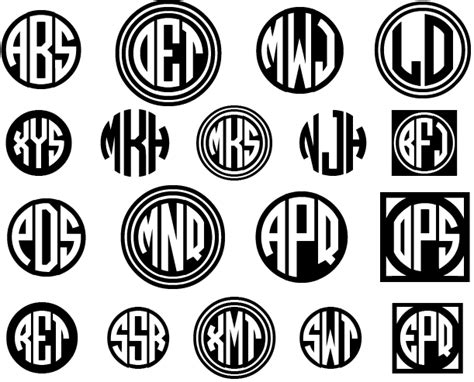 The Best 30 Free Monogram Fonts