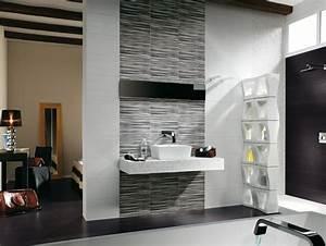 Badezimmer Fliesen Grau Weiß : badezimmer fliesen ideen 95 inspirierende beispiele ~ Watch28wear.com Haus und Dekorationen