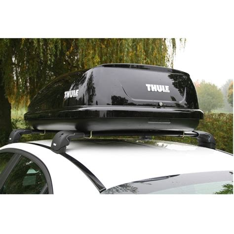 thule box auto thule 688006 80 car roof box from direct car parts