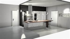 Meuble Haut Cuisine Pas Cher : meuble cuisine am nag e pas cher maison et mobilier d 39 int rieur ~ Teatrodelosmanantiales.com Idées de Décoration