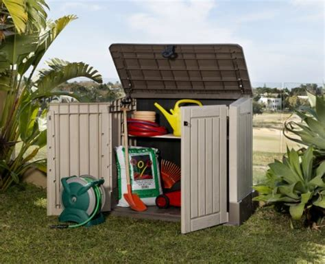 Keter Woodland High Storage Shed by Keter Woodland Storage Box Find And Choose
