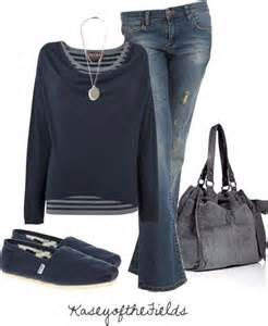 Casual Outfit with Toms
