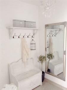 Shabby Style Garderobe : die besten 25 garderobe kleiner flur ideen auf pinterest ~ Michelbontemps.com Haus und Dekorationen