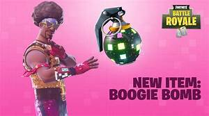 Fortnite BR Adds Funny Dance Party Grenade Game Rant