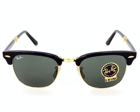4.8 out of 5 stars based on 43 product ratings(43). Ray-Ban Clubmaster Folding RB-2176 901