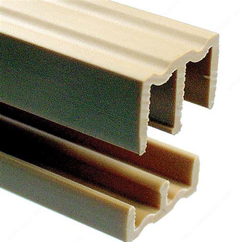 Plastic Sliding Cabinet Door Track by Plastic Track For 1 4 Quot Sliding Doors Richelieu Hardware