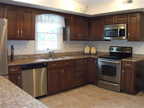 kitchen makeover with cabinet refacing organized by design
