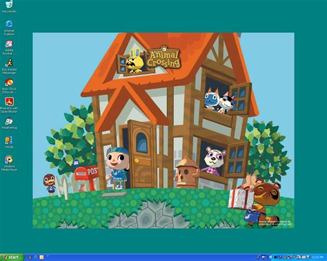 Where Do You Buy Wallpaper In Animal Crossing New Leaf - animal crossing desktop by animalcrossing club on deviantart