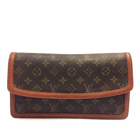 louis vuitton evening bag  monogram dame long