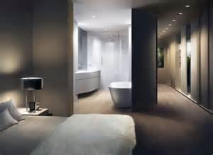 schlafzimmer mit badezimmer loft master bathroom design by unstudio movable curved wall