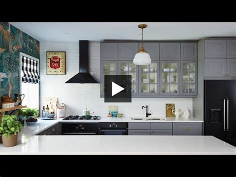free kitchen makeover 2014 interior design dramatic boldly decorated family ikea 3561
