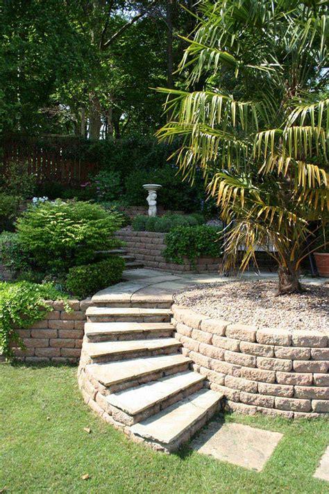 slope garden design sloping garden design ideas quiet corner