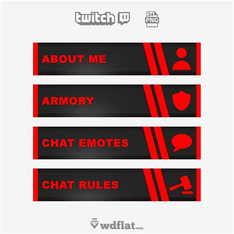 Twitch Alert Images Template by Red Noise 24 Png Images Free Twitch And Youtube Templates