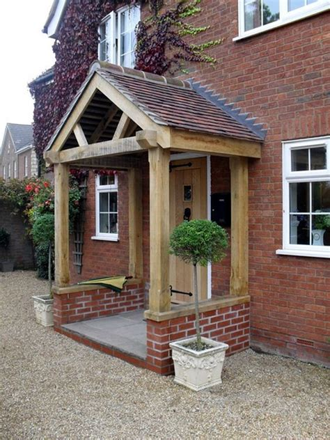 Front Door And Porch Ideas by 40 Lovely Door Overhang Designs Bored