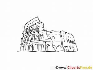 Rom, Kolosseum, Malvorlage