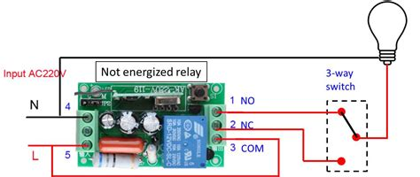 a 3 way switch controls switches how to wire a 3 way switch and a rf relay to control lights electrical engineering