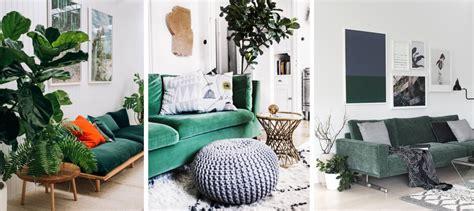 canapé vert deco salon avec canape bleu chaios com